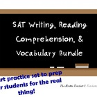 SAT Writing, Reading Comprehension, & Vocabulary Bundle