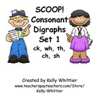 SCOOP! Consonant Digraphs Set 1 Card Game