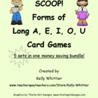 SCOOP! Forms of Long A,E,I,O, and U Games - Money Saving Bundle!