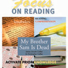 My Brother Sam is Dead Focus on Reading Study