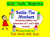 SETTLE THE NUMBERS: Addition of 1- and 2-digit Numbers Tas