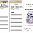 SF Reading Street Grade 4 Antarctic Journal Comprehension Trifold