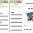 SF Reading Street Grade 4 Coyote School News Comprehension