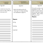 SF Reading Street Grade 4 Lewis and Clark Comprehension Trifold