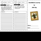 SF Reading Street Grandfather&#039;s Journey Comprehension Trifold
