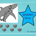 SHARKY Dice (addition/subtraction dice game)