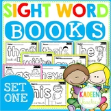 SIGHT WORD BOOKS