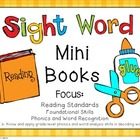Sight Word Mini Books