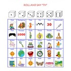 SLP Articulation Dice Game for TH