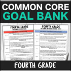 SLP Common Core Fourth Grade Goal Bank