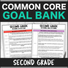 SLP Common Core Second Grade Goal Bank