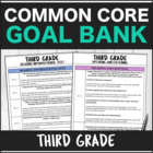 SLP Common Core Third Grade Goal Bank