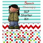 SLP Starter Kit Blank Forms for the Beginning of the Year