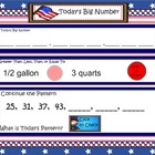 SMART Board Math Calendar Grades 4-5  Day Files: Set 5