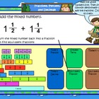SMART Board Math Calendar Grades 4-5  Day Files Set 8
