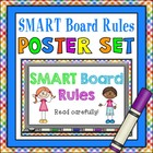 SMART Board Rules Poster Set