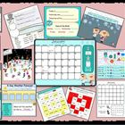 SMARTBOARD Calendar and Activities January (Weather Counti
