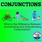 SMARTBOARD Coordinating Conjunctions - Subordinating Conjunctions