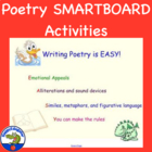 SMARTBOARD Writing Poetry is EASY Activities