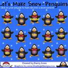 SMARTBoard Attendance - Snow Penguins