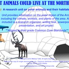SMARTBoard Polar/Arctic Region Animals Research Writing Pr