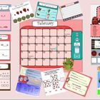 SMARTboard Calendar and Activities FEBRUARY