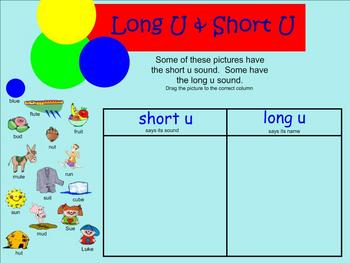 SMARTboard Long U Activity
