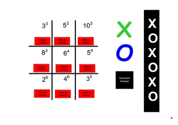 SMARTboard Tic Tac Toe Math Bundle