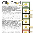 SMILEY Classroom Behavior Clip Chart