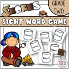 S'Mores Sight Word Game Grade 2 Dolch word list