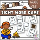 S&#039;Mores Sight Word Game Grade One Dolch word list