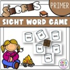 S&#039;Mores Sight Word Game Primer Dolch word list