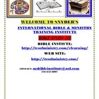 SNYDER'S INTERNATIONAL MINISTRY: FREE BIBLE COURSES