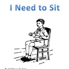 SOCIAL SKILLS BOOKS: I Need to Sit