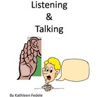 SOCIAL SKILLS BOOKS: Listening & Talking