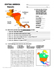 SOUTH AMERICA, CENTRAL AMERICA, MEXICO and CANADA Geography