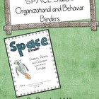 SPACE Student Organization and Behavior Binders