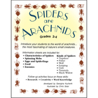 SPIDERS ARE ARACHNIDS Gr. 3-4