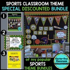 SPORTS Themed Classroom Kit ~ Ideas and Printables