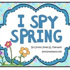 SPRING MATCH-UP (An I Spy Activity)