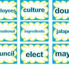 SRA Imagine It! - Unit 3 Around the Town - Word Cards