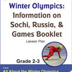 Winter Olympics: Information on Sochi, Russia Gr. 2-3 Lesson Plan
