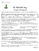 ST. PATRICKS DAY LEGEND OF IRISH LEPRECHAUN WORKSHEETS