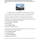STAAR Alaska Editing Writing Test