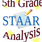 STAAR Analysis 5th Grade