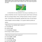 STAAR Chinese New Year  Editing Writing Test