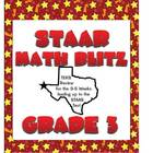STAAR Math Blitz:  Grade 3 TEKS Review