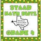 STAAR Math Blitz:  Grade 4 TEKS Review