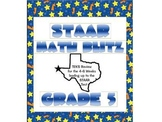 STAAR Math Blitz:  Grade 5 TEKS Review