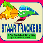 STAAR Math Standards Trackers - (Grades 3, 4 &amp; 5)